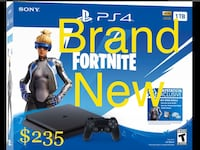 SEALED BOX! PlayStation 4 (PS4 1TB with Fortnite) Brand New!! Aldie, 20105