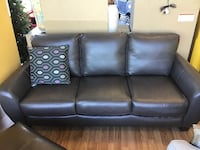 New Grey leather sofa Virginia Beach, 23462