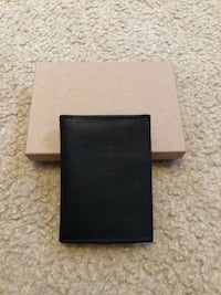 Brand new small black genuine leather wallet Rutherford, 07070