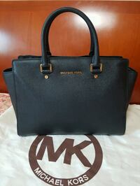 MK selma large saffiano leather satchel  Seoul, 140-210
