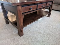 Matching Coffee & End table, Solid Wood