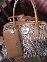 DKNY purse & wallet both 1 price