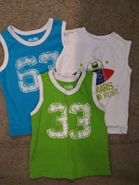 3 pack of boys tank tops. Size 2T Vancouver, 98685