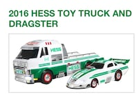 BRAND NEW / 2016 Toy Truck and Dragster Roxbury, 07850