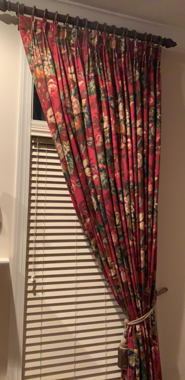 Curtains with Rods!