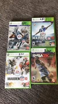 Xbox 360 sports games Newaygo, 49337