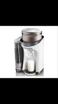 white and black Baby Brezza milk maker screenshot Frederick, 21702