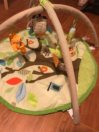 Baby jumper, activity mat and britax car seat w/ 2 bases