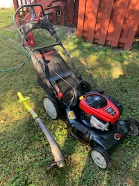 Troy Bilt Push Mower and Ryobi 18V Weed Trimmer Springfield, 22150