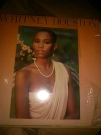 Whitney Houston viynl record Fort Lauderdale