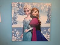 Elsa and Ana wall decor Vaughan, L4H 1Y4