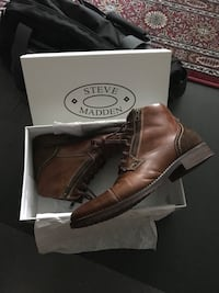 Steve Madden 11 / 44 Absolute Brown Boots New Vancouver, V6Z 1Z7