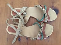 Leather sandals size 10.  Toronto, M2M 2A9