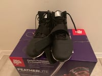 pair of black Nike Air Force 1 low shoes West Palm Beach, 33407