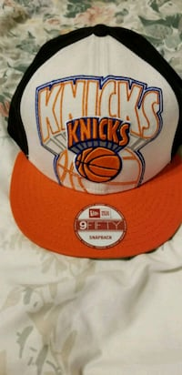 red and white New York Knicks fitted cap El Paso, 79936