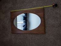"ETHAN ALLEN HEIRLOOM NUTMEG MAPLE WALL MIRROR 24"" x 36"", 18-9217 Bel Air"