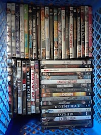 62 dvds collection  Rosamond, 93560