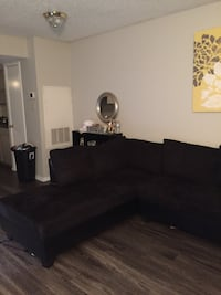 black sectional couch San Antonio, 78230