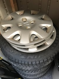Honda Civic 4 x 100 rims with winters  Halton Hills, L7G 6N5