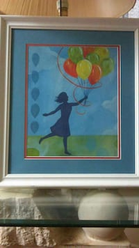 Girl With Balloons Painting Cedar Rapids, 52403