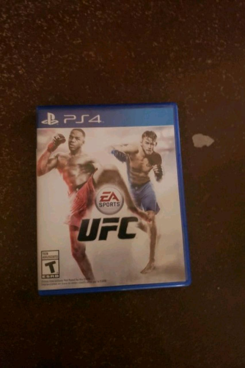 Sony PS4 UFC 2 game case for sale  El Paso