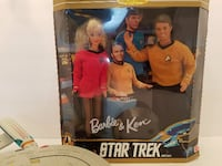 Star Trek collectors item - Star Trek Barbie and K San Carlos