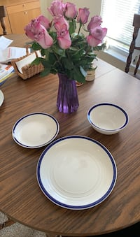 Dinner plates and bowls set!