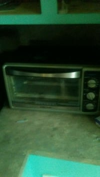 black and gray toaster oven Chauvin, 70344