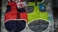 Size 18 & 20  Puffy coats for Dogs - Fully Reversible - Multiple color Edmonton