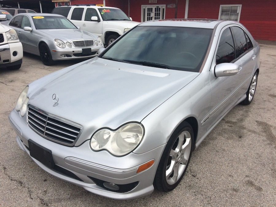Used 2007 mercedes benz c230 sport in houston for Mercedes benz parts houston
