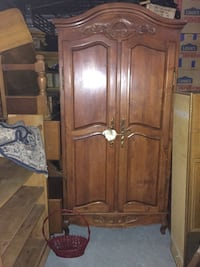 Huge antique stand alone closet