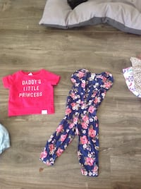 9020003e002 Used White and purple jumpsuit from crazy 8 size 18-24 month for ...