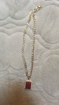 gold chain necklace with pendant Washington, 20002