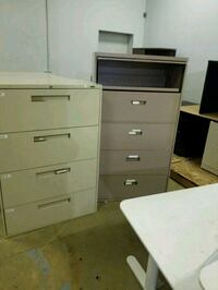 white wooden 4-drawer chest Houston, 77041