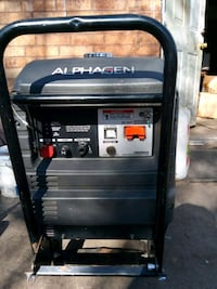 Alphagen backup generator this is a DC generator