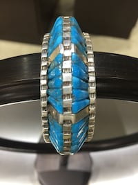 David Freeland Original raised inlay bracelet  Sedona, 86336