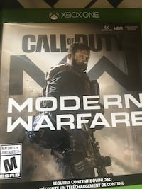 Xbox One games for sale  30 each or 60 both