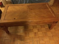 Coffee table set solid wooden Toronto, M3A
