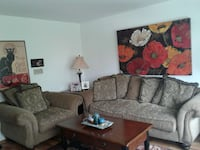 Couch and large chair. Wheeling, 60090