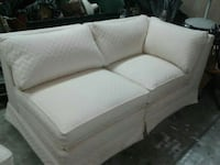 Gorgeous Cream Love Seat and Accent Chair