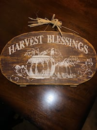 Harvest blessings, VR type, spacecraft clock and alarm  San Angelo, 76904