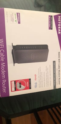 Netgear N 600 WiFi cable modem Router 802.11 n Dual band Falls Church, 22046