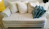 white  sofa and love seat Germantown