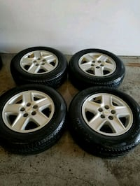 Chevy rims and tires  Toronto, M6L 1A4