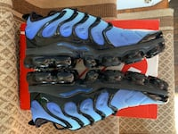 Nike Air VaporMax Plus sz 10.5 Hyper Blue