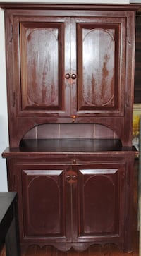 French Canadian Pine Step Back Cupboard TORONTO