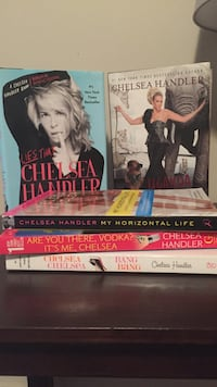 Chelsea Handler book collection