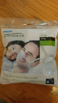 Brand new Respironics wisp nasal mask & headgear Mississauga, L5M 4G7