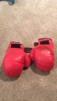 pair of red boxing gloves Calgary, T3H 5J9