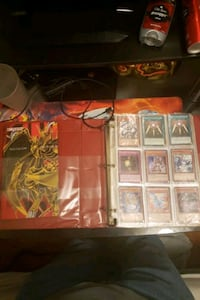 YO-GI-OH Cards w/lots of rares lot and battle mat